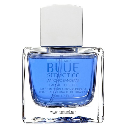 Antonio Banderas Blue Seduction EDT за мъже-без опаковка-100ml