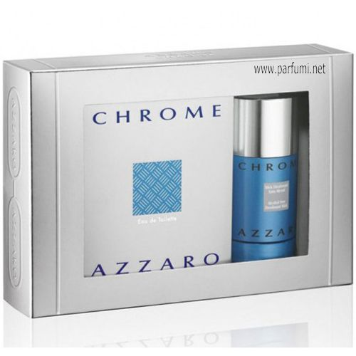 Azzaro Chrome Комплект за мъже 50ml EDT + 75 Deo Stick