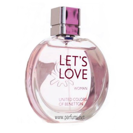 Benetton Let's Love EDT парфюм за жени - 30ml