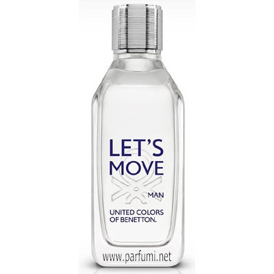 Benetton Let's Move EDT парфюм за мъже - 100ml