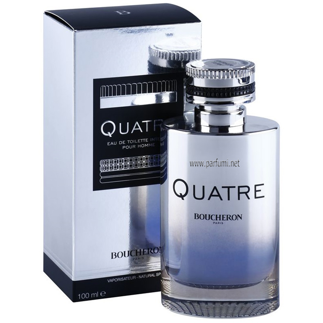 Boucheron Quatre Intense Pour Homme EDT parfum for men - 100ml