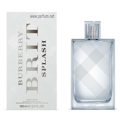 Burberry Brit Splash EDT за мъже - 100ml