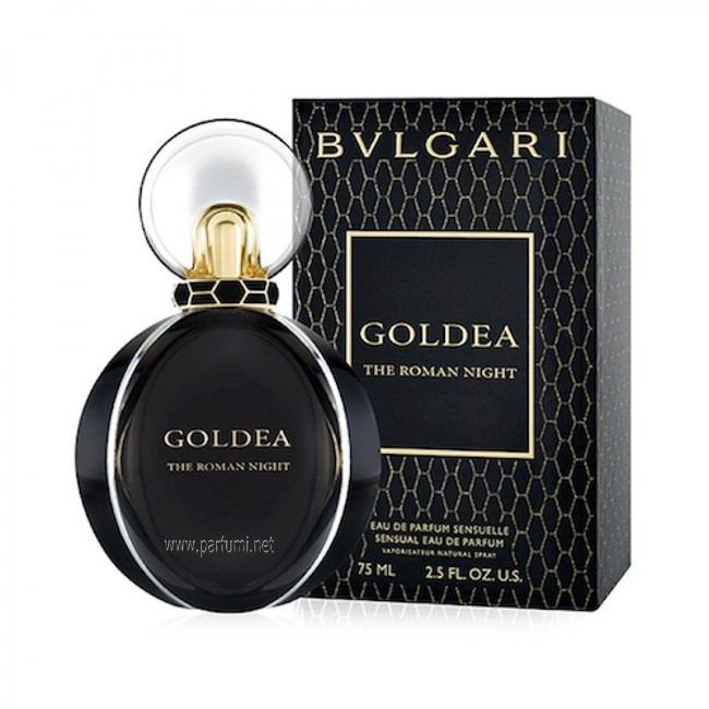 Bvlgari Goldea The Roman Night EDP parfum for women - 75ml.