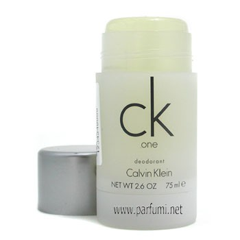 CK One Deo Stick for men - 75gr