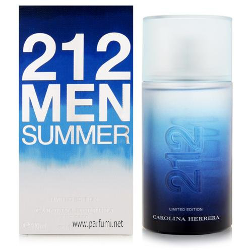 Carolina Herrera 212 Summer EDT parfum for men - 100ml