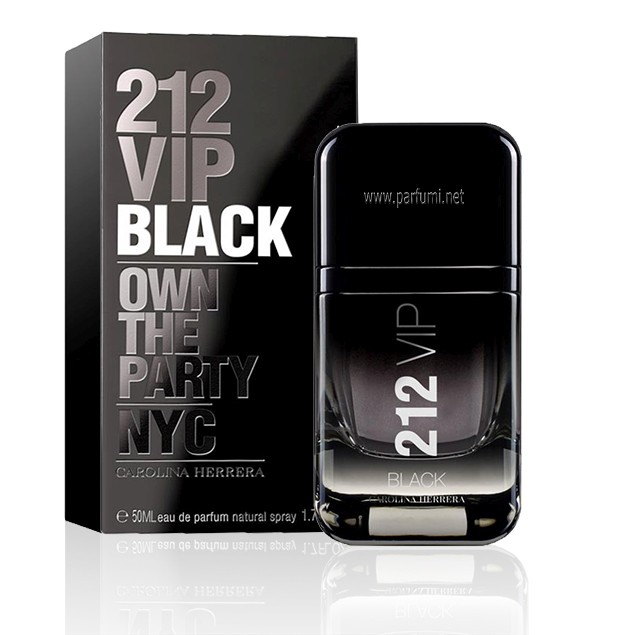 Carolina Herrera 212 VIP Black EDP за мъже - 50ml