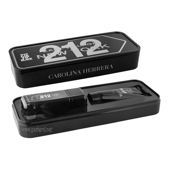 Carolina Herrera 212 VIP Black Gift set for men 100 EDP + 100 SG