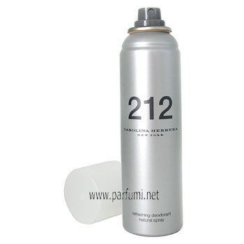 Carolina Herrera 212 Deodorant Spray for women - 150ml