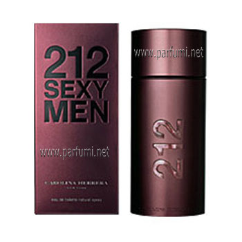 Carolina Herrera 212 Sexy EDT parfum for men - 100ml