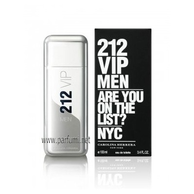 Carolina Herrera 212 VIP Men EDT за мъже - 100ml