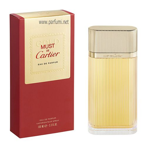 Cartier Must Gold EDP парфюм за жени - 100ml