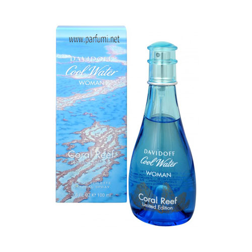Davidoff Cool Water Coral Reef EDT for women- 100ml