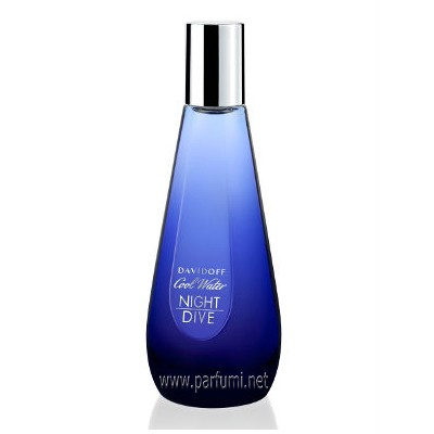 Davidoff Cool Water Night Dive EDT for women -without package- 80ml