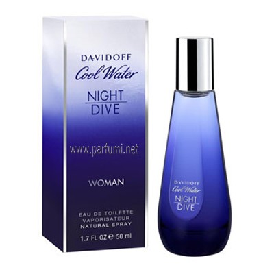 Davidoff Cool Water Night Dive EDT за жени - 80ml