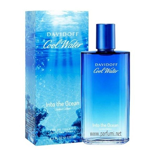 Davidoff Cool Water Into The Ocean EDT за мъже - 125ml