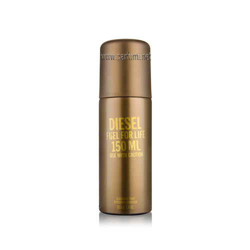 Diesel Fuel for Life Homme Deodorant Spray for men - 150ml.