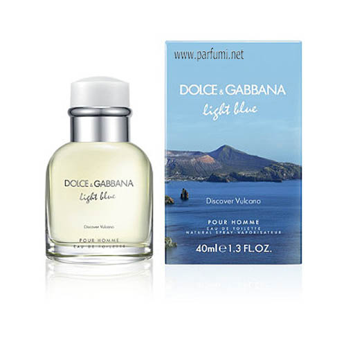 Dolce&Gabbana Light Blue Discover Vulcano EDT парфюм за мъже - 125ml