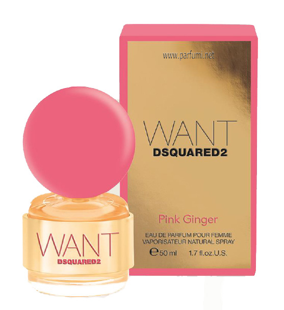 DSQUARED² Want Pink Ginger EDP парфюм за жени - 100ml