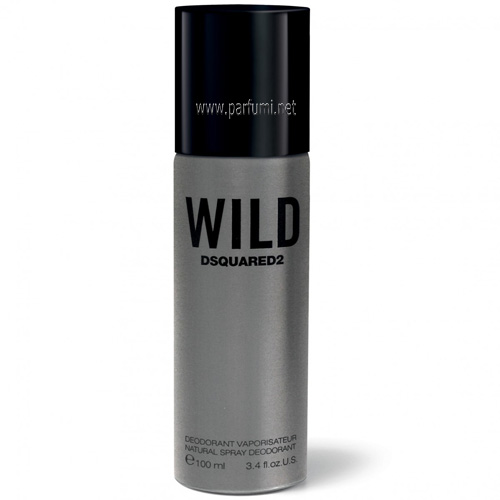 DSQUARED² Wild Deodorant Spray for men - 100ml