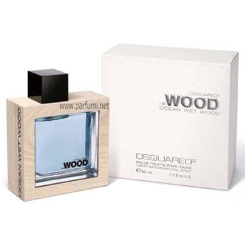 DSQUARED² He Wood Ocean Wet EDT парфюм за мъже - 50ml.