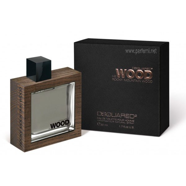 DSQUARED² He Wood Rocky Mountain Wood EDT парфюм за мъже - 100ml