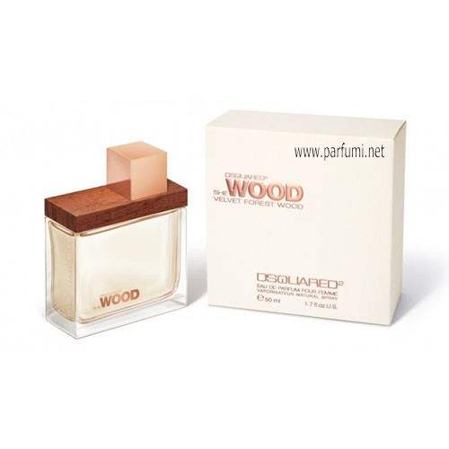 DSQUARED² She Wood Velvet Forest EDP парфюм за жени - 50ml