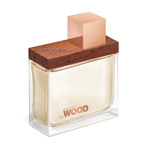 DSQUARED² She Wood Velvet Forest EDP за жени - без опаковка - 100ml