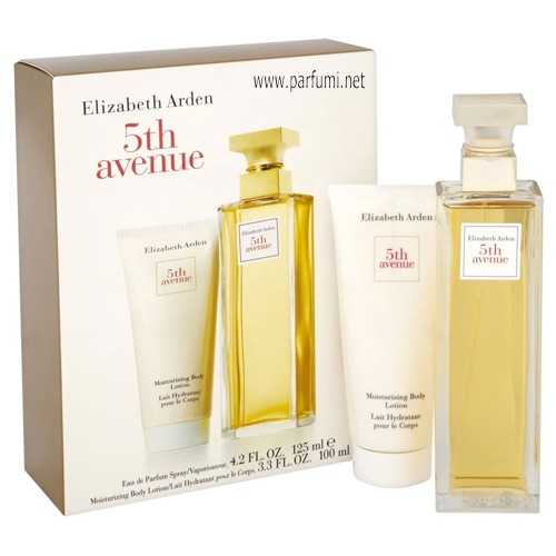 Elizabeth Arden 5th Avenue Комплект за жени-125ml EDP +100ml BL