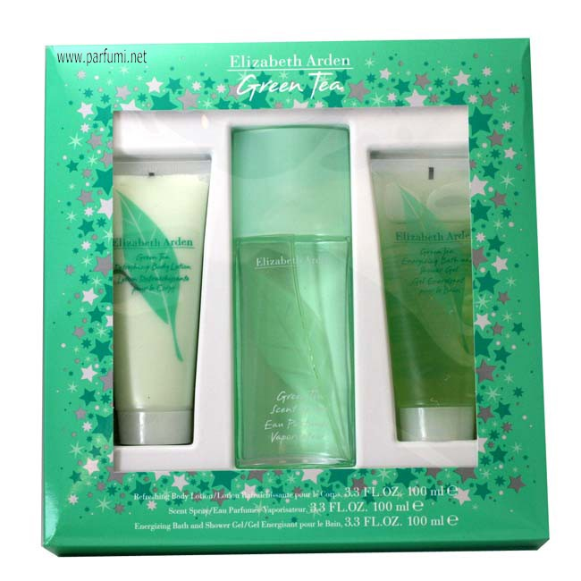Elizabeth Arden Green Tea Комплект за жени-100ml+100SG+100BL