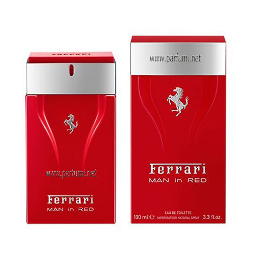 Ferrari Man in Red EDT perfume for men - 100ml