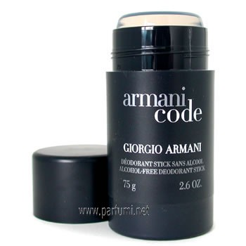 Giorgio Armani Code Deo Stick for men - 75gr.
