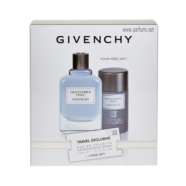 Givenchy Gentleman Only Комплект за мъже-100ml +75 Deo stick