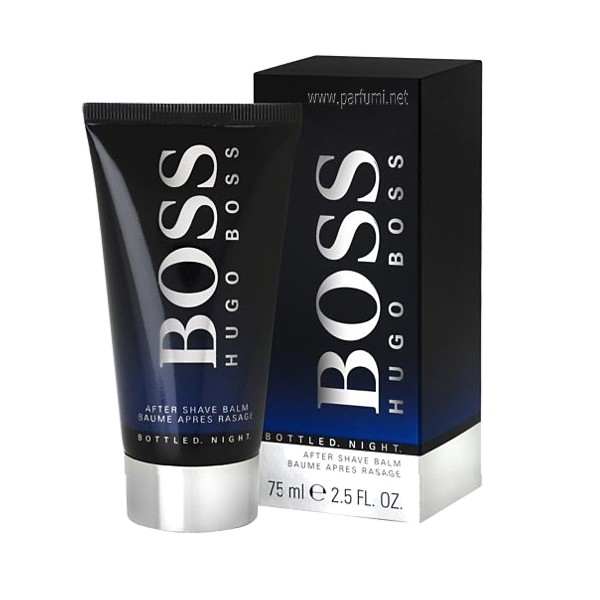 Hugo Boss Boss Bottled Night Aftershave Balsam for men - 75ml