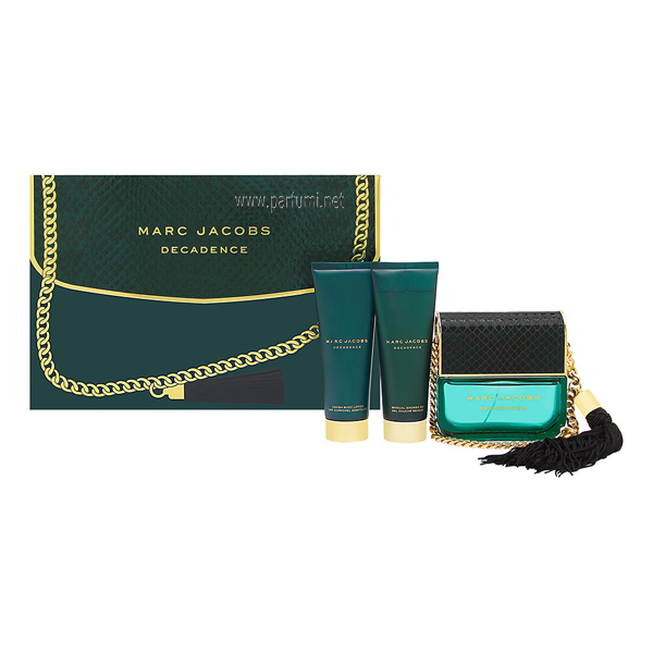 Marc Jacobs Decadence Комплект за жени-100ml EDP+75ml BL+75ml SG