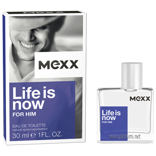 Mexx Life is Now for Him EDT парфюм за мъже - 75ml