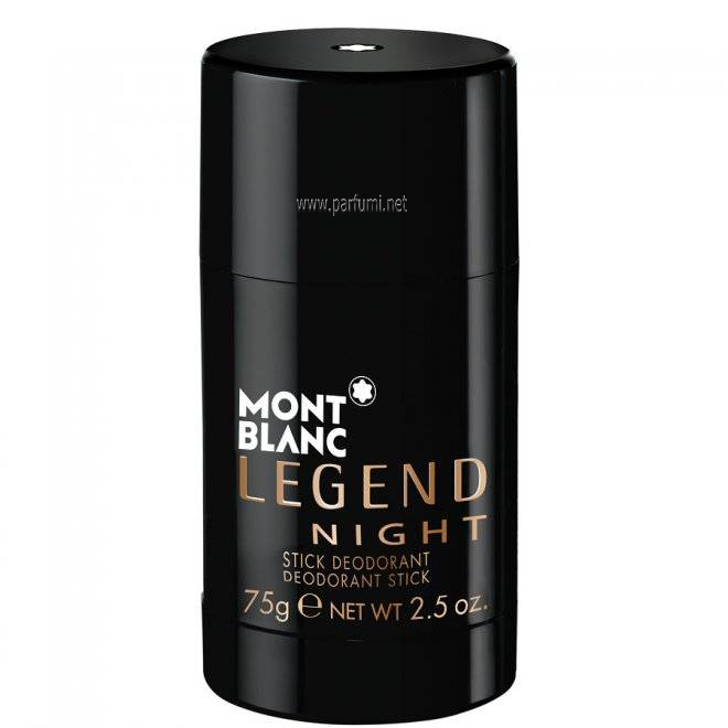 Mont Blanc Legend Night Deo Stick за мъже - 75ml