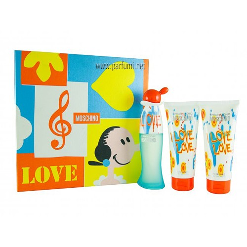 Moschino CheapΧc I Love Love Комплект за жени 50ml + 50ml + 50ml