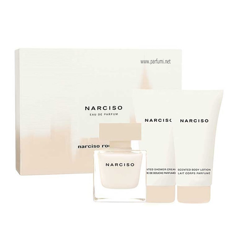 423802ba7db Narciso Rodriguez Narciso Комплект за жени - 50ml EDP + 75ml BL + 75ml SG