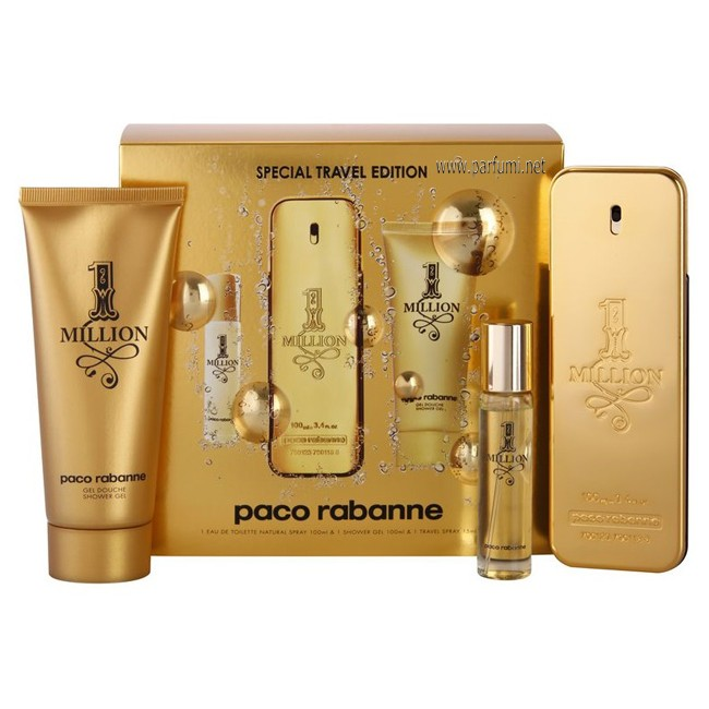 Paco Rabanne 1 Million Комплект за мъже 100ml EDT + 75ml SG + 10ml