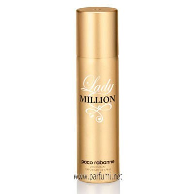 Paco Rabanne Lady Million Deodorant Spray for women - 150ml