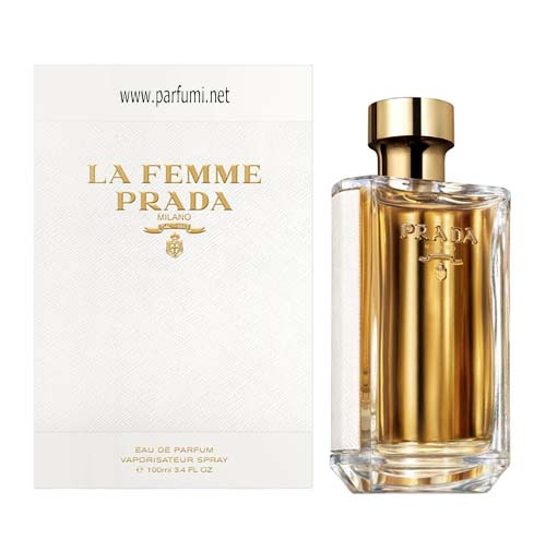 Prada La Femme EDP parfum for women - 100ml.