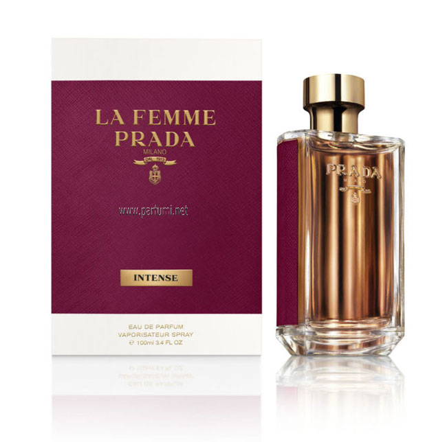 Prada La Femme Intense EDP parfum for women - 100ml.