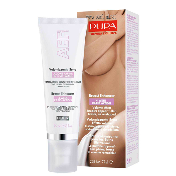 Pupa BREAST ENHANCER 4 WEEK RAPID ACTION 75ml