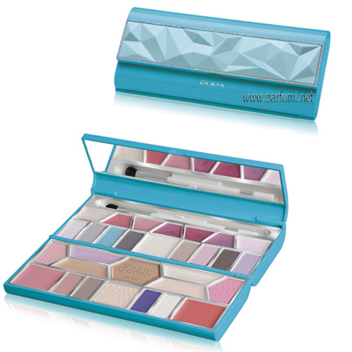Pupa Crystal Palette Small Грим Палитра 010191 011