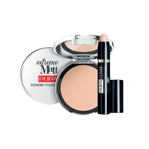 Pupa PERFECT FACE KIT EXTREME MATT Set