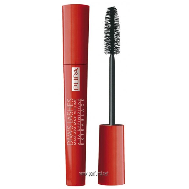 Pupa Diva`s Lashes Extra black спирала