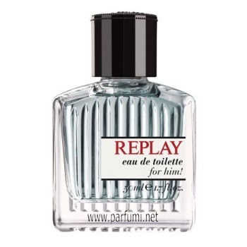 Replay for Him EDT парфюм за мъже - без опаковка - 75ml.