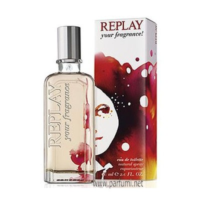 Replay Your Fragrance! for Her EDT парфюм за жени - 20ml.