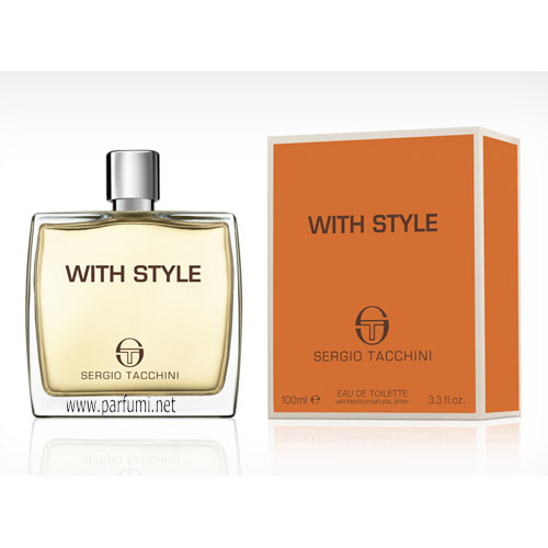 Sergio Tacchini With Style EDT парфюм за мъже - 100ml
