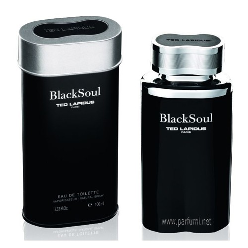 Ted Lapidus Black Soul EDT for men - 100ml